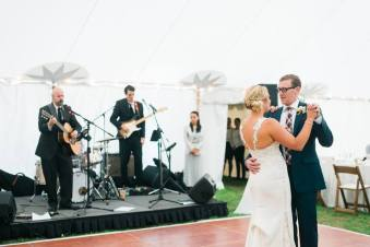 Eastern Standard tent Wedding