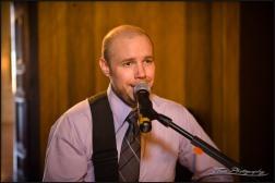 Kenny Performing at a wedding